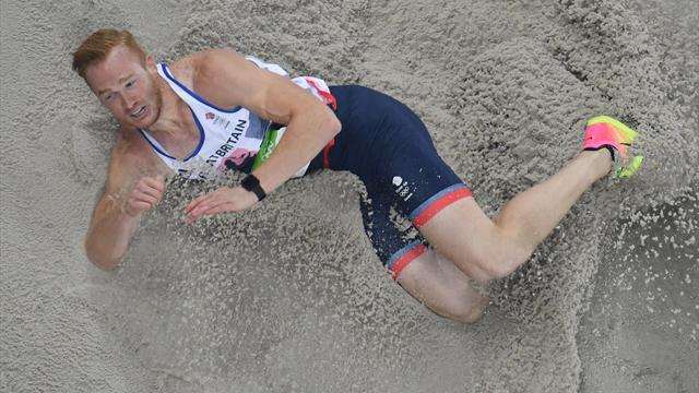 Greg Rutherford, champion du monde de la longueur en titre, forfait sur blessure