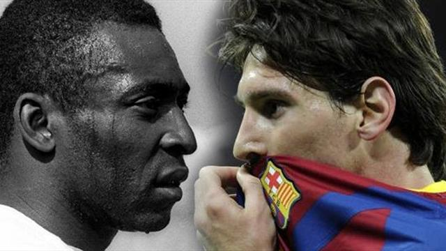 "Pelé tacle Messi : ""Il n'a qu'un talent : son pied gauche"""