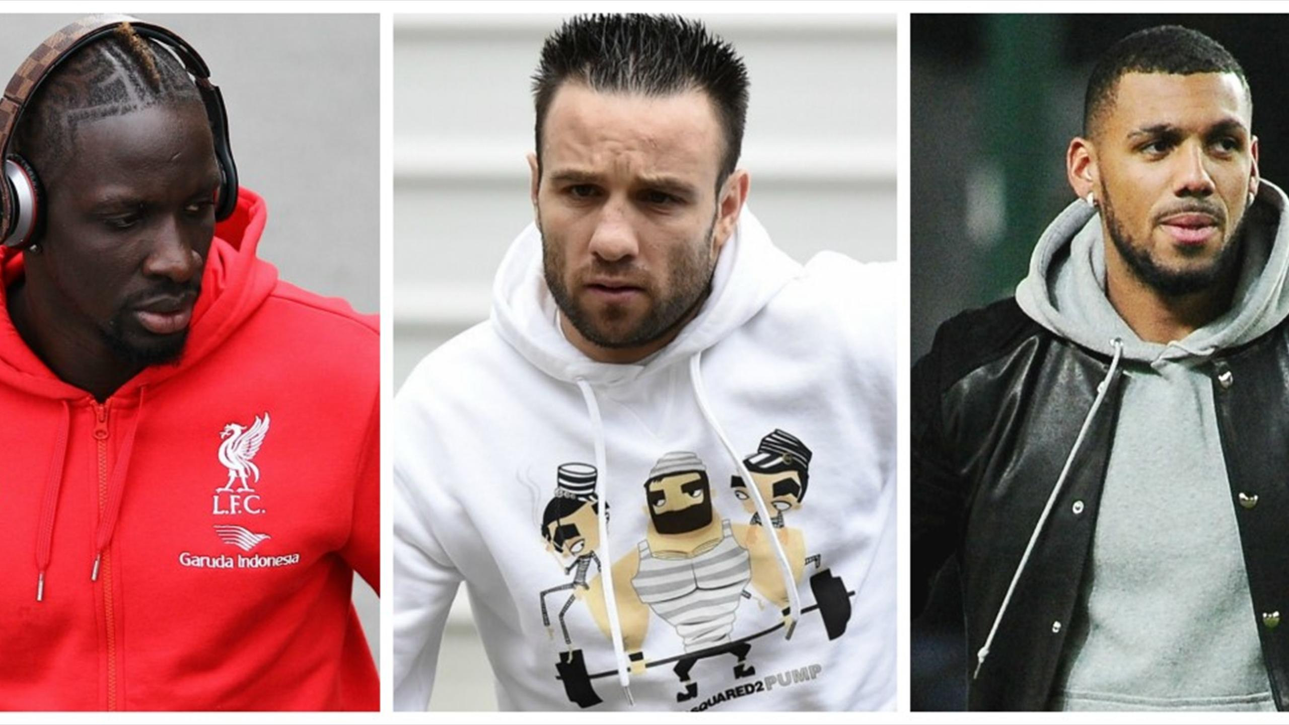 Mamadou Sakho, Mathieu Valbuena, Yann M'Vila.