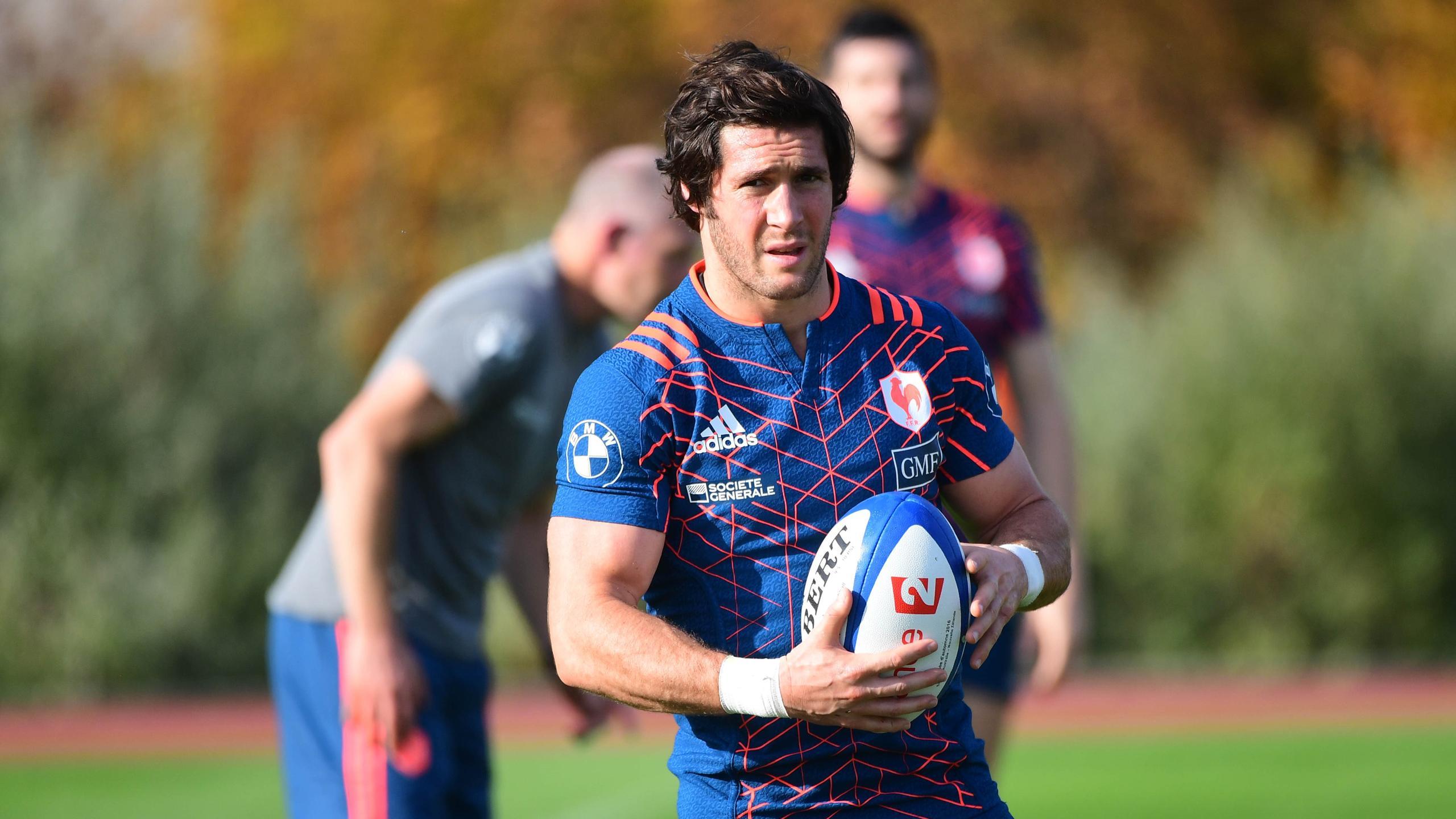 Maxime Machenaud (XV de France) - Novembre 2016