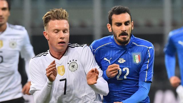 Amistoso, Italia-Alemania: Empate a nada (0-0)