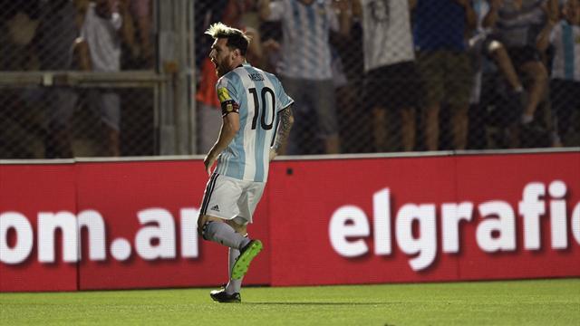 Une merveille de coup franc et deux passes décisives lumineuses : Messi a régalé l'Argentine