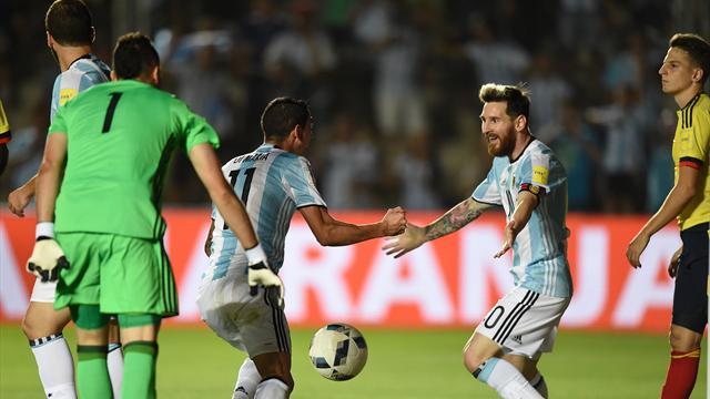 Messi redonne le sourire à l'Argentine, le Brésil reste intouchable