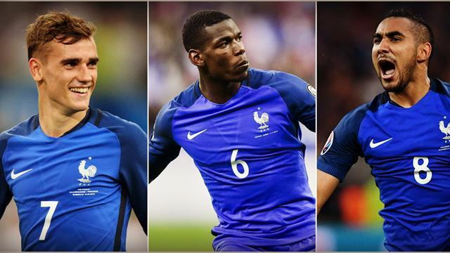 Griezmann, Pogba, Payet : Quel est votre Bleu de l'année ?