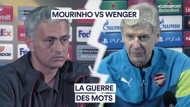Mourinho vs Wenger : l'éternelle guerre des mots