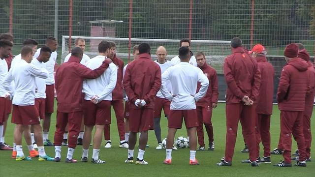 Bayern's Robben, Martinez, Coman miss Dortmund game