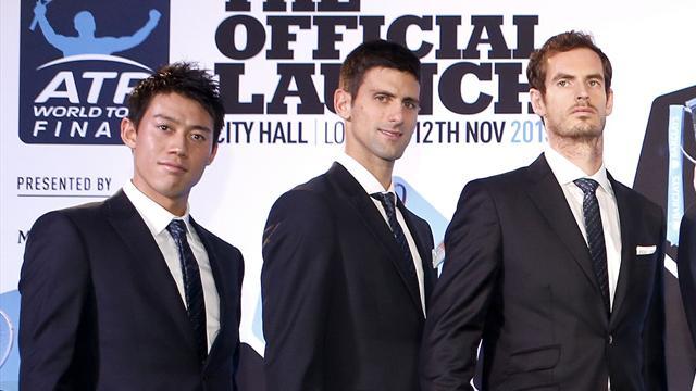 Murray-Djokovic pour la 1re place, Raonic-Nishikori pour la 3e: le Top 5 mondial peut encore changer