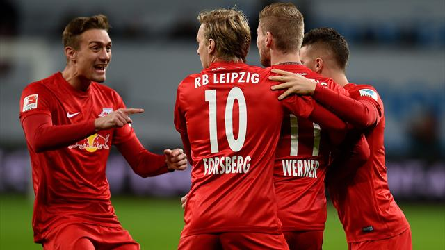 En attendant le choc Dortmund-Bayern, c'est Leipzig qui prend la tête