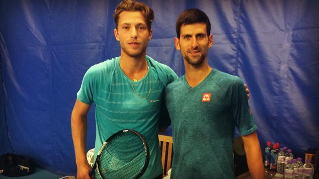Tennis : Pour Hugo Grenier, sparring-partner des stars du Masters, c'est déjà Noël