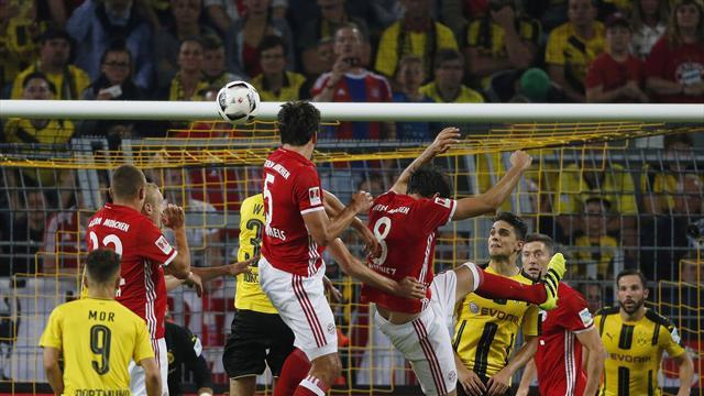 Bundesliga, Dortmund-Bayern Múnich: Aubameyang priva al Bayern del liderato (1-0)
