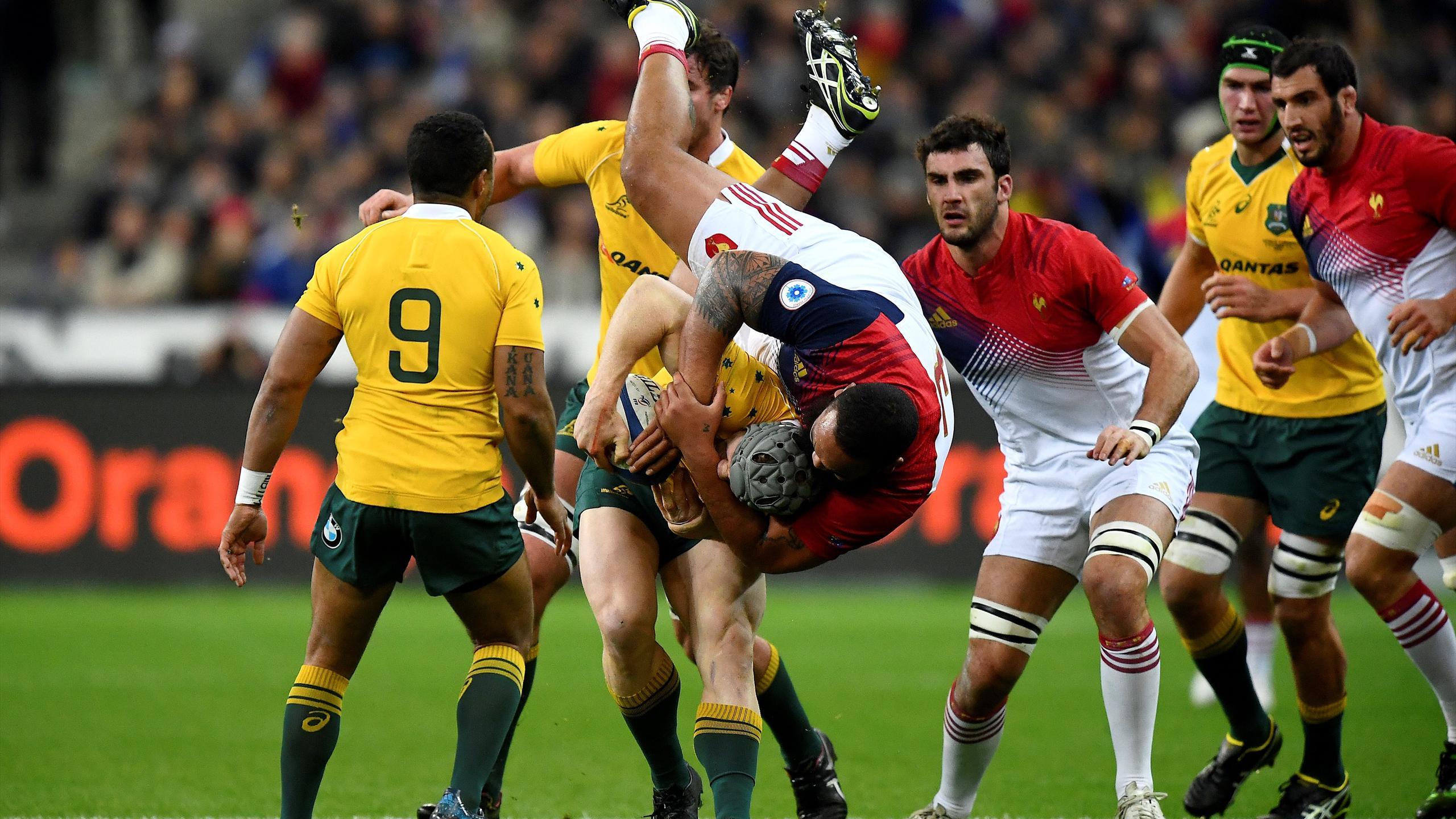Uini Atonio (XV de France) face à l'Australie - 19 novembre 2016