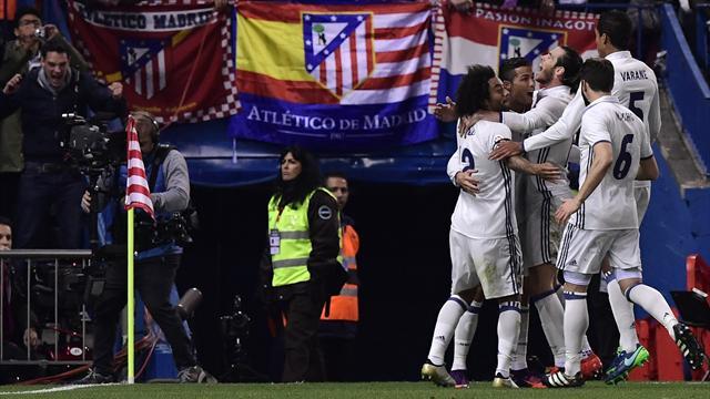 Un triplé de Ronaldo, l'Atlético humilié, le Barça distancé : un derby de rêve pour le Real