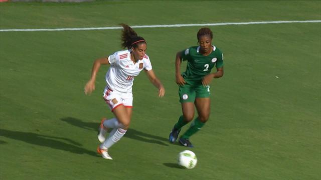 Mundial Femenino Sub '20, Nigeria-España: A cuartos con derrota (2-1)