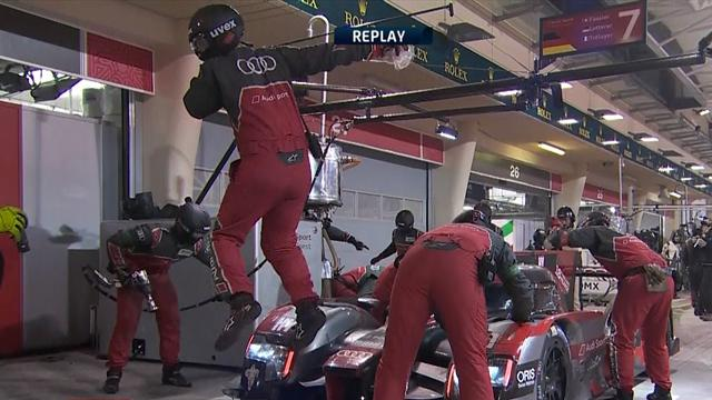 A hint of Cristiano Ronaldo about this Audi mechanic's celebration