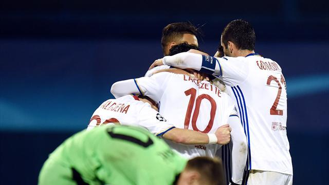 Vainqueur à Zagreb, Lyon s'offre le droit de rêver