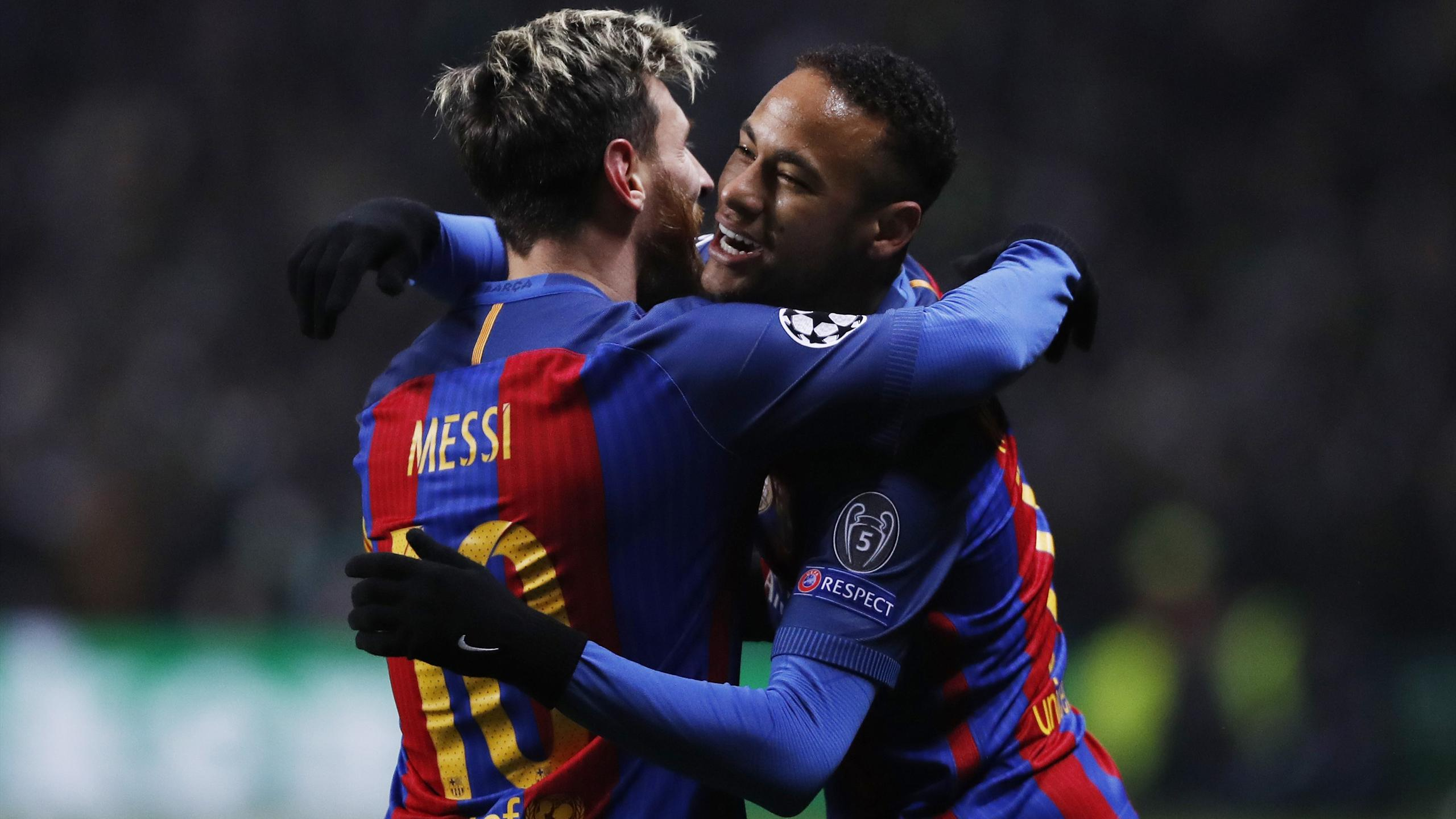 Lionel Messi and Neymar combine for brilliant opener.
