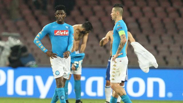 Naples bloqué par Kiev, suspense total dans le groupe B
