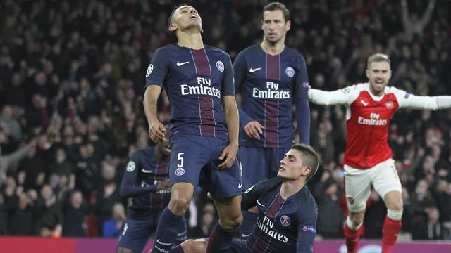 «Арсенал» иПСЖ снова разошлись миром