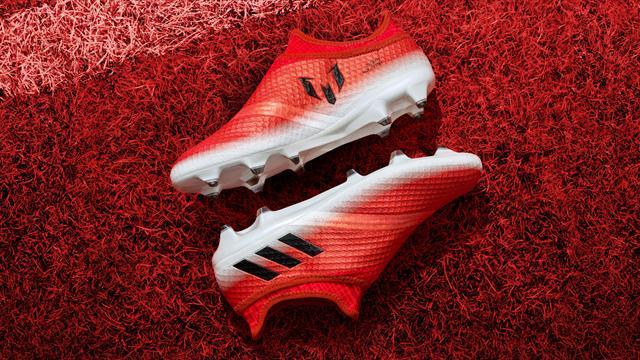 Du rouge pour les nouvelles chaussures de Lionel Messi