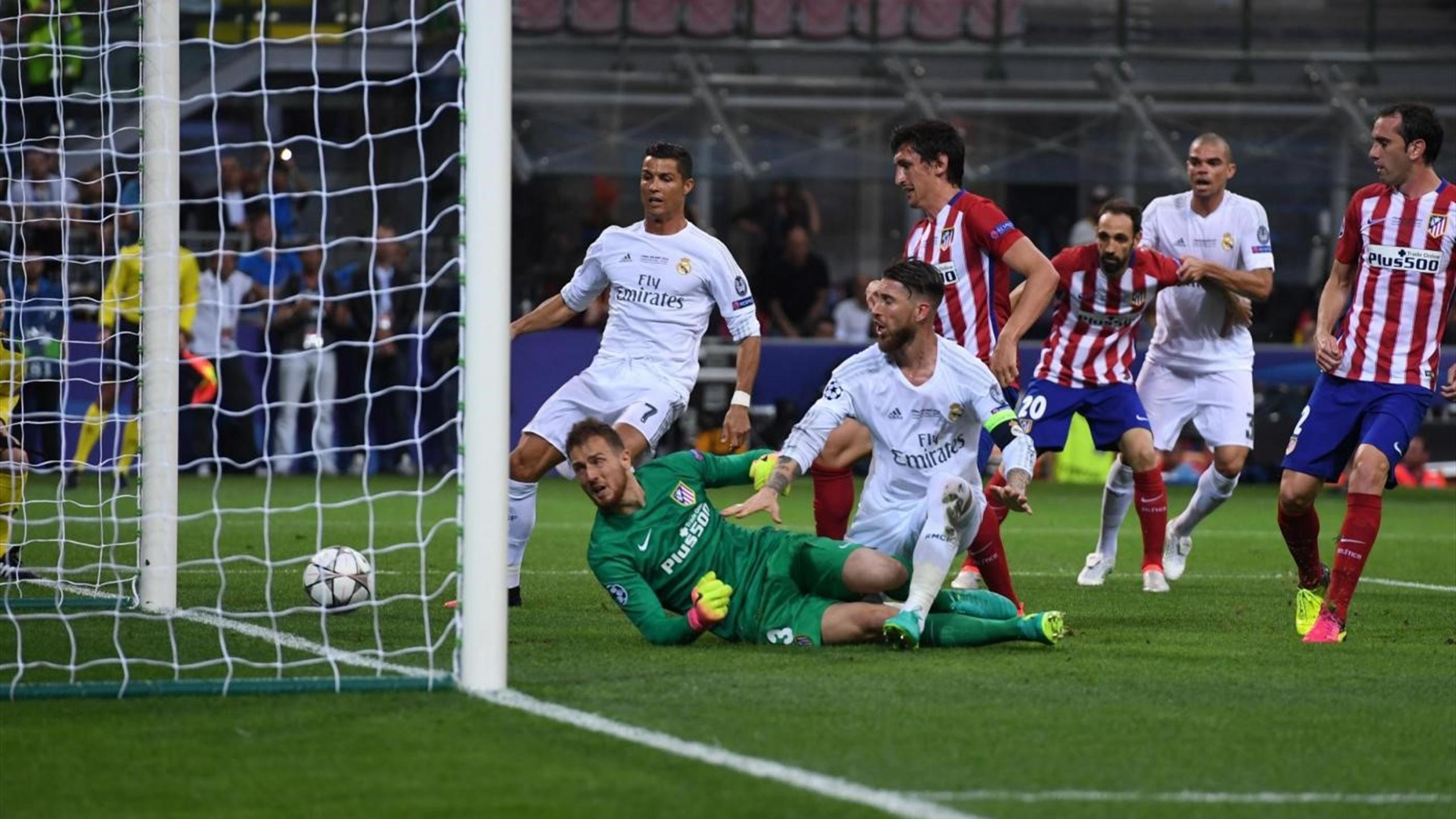 Sergio Ramos - Atlético Madrid-Real Madrid - Champions League 2015/2016 - LaPresse