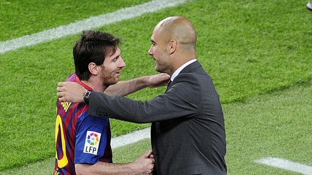 Guardiola'dan Messi'ye yeni övgüler