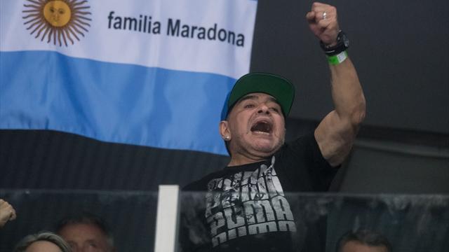 Марадона: мне невчем упрекнуть Тевеса из-за его переезда в КНР