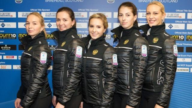 Женская сборная России по керлингу вышла в финал ЧЕ