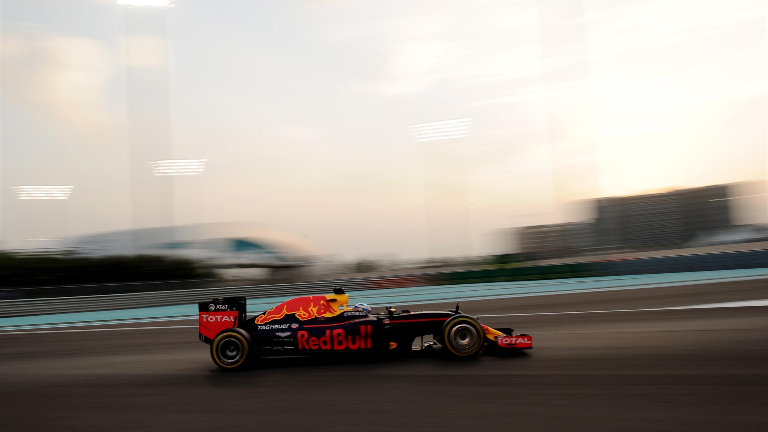 Daniel Ricciardo (Red Bull) au Grand Prix d'Abou Dabi 2016