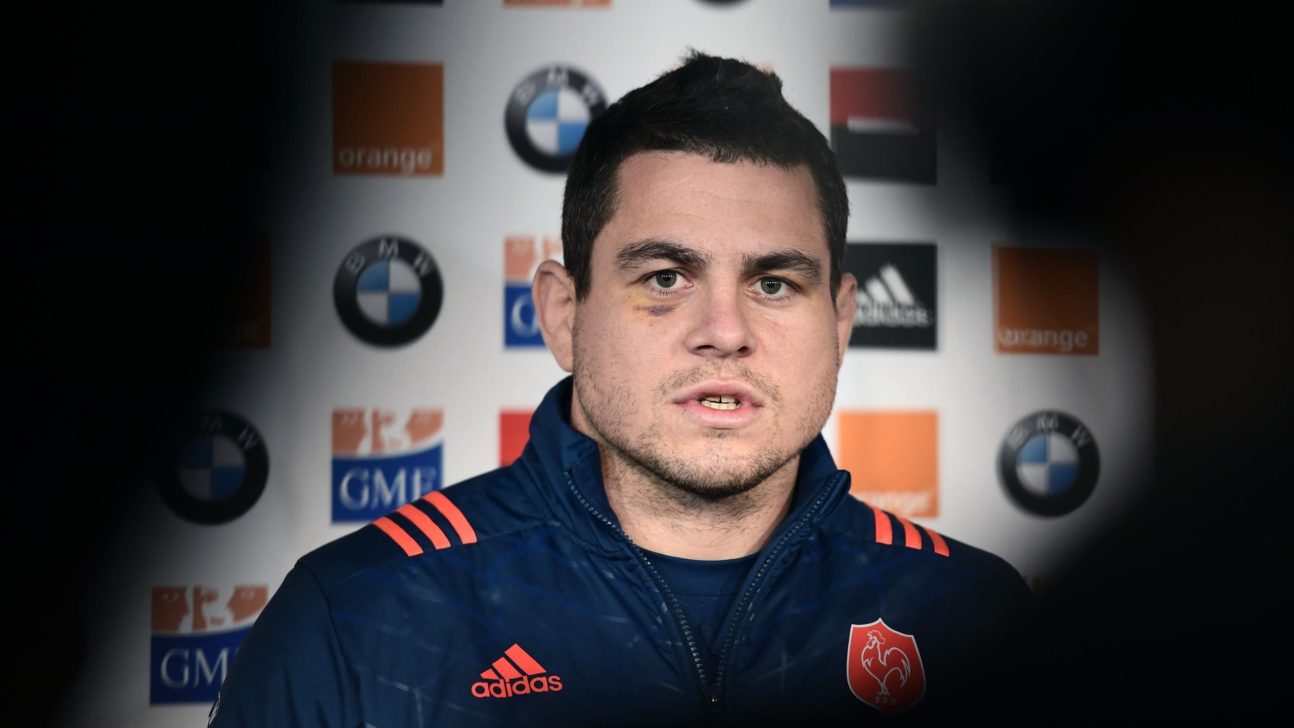 Guilhem Guirado, talonneur et capitaine du XV de France - 25 novembre 2016