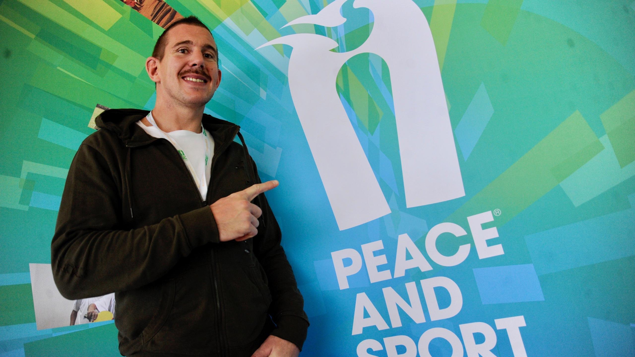 Imanol Harinordoquy au forum Peace and Sport - Novembre 2016