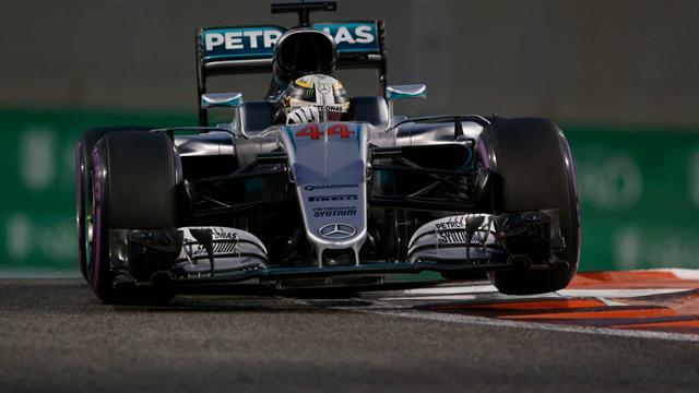 Хэмилтон выиграл квалификацию Гран-при Абу-Даби, Квят – 17-й