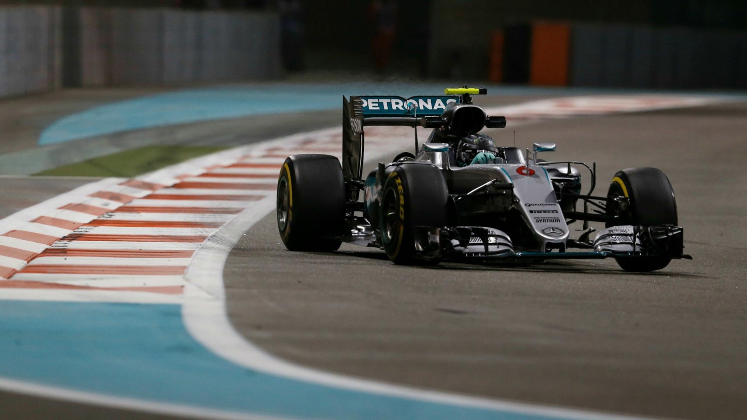 Nico Rosberg (Mercedes) au Grand Prix d'Abou Dabi 2016