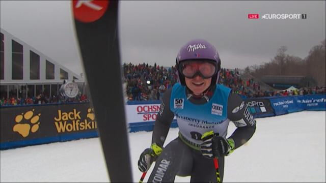 Tessa Worley storms to GS victory in Killington