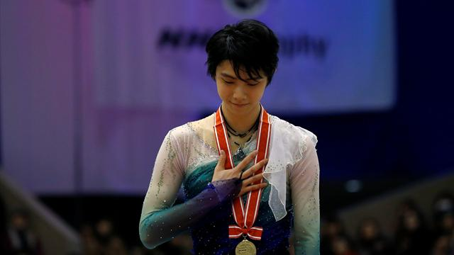 Hanyu clinches NHK Trophy gold