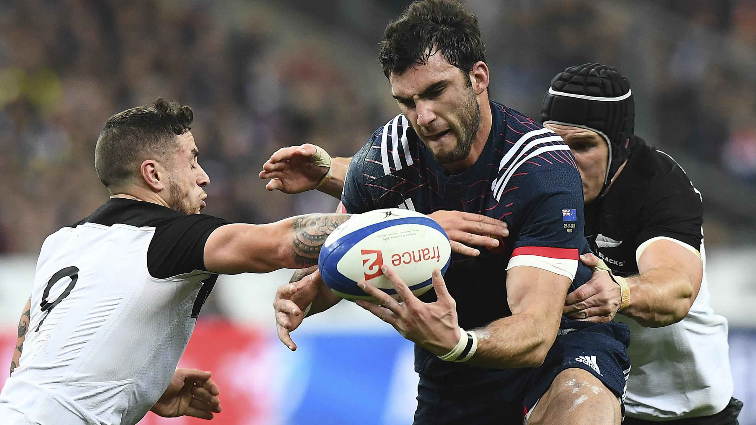 Charles Ollivon (XV de France) contre la Nouvelle-Zélande