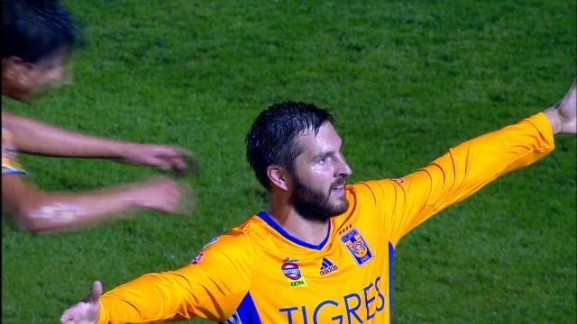 Football. Gignac inscrit un magnifique triplé avec les Tigres au Mexique
