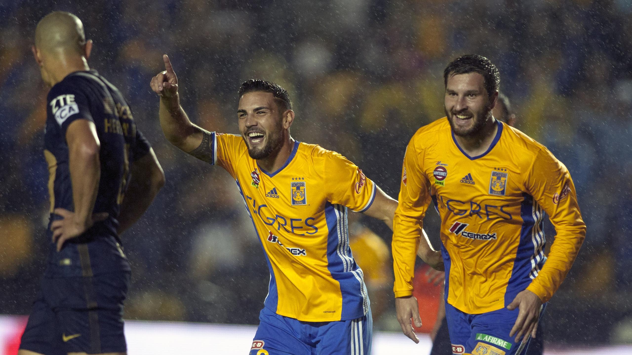 Andy Delort et André-Pierre Gignac portent les Tigres en demi-finale du championnat mexicain