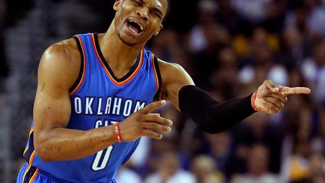 Séptimo 'triple-doble' para Westbrook en triunfo del Thunder