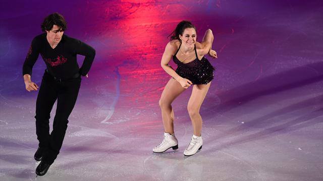 Вирчу и Мойр обновили мировой рекорд в коротком танце