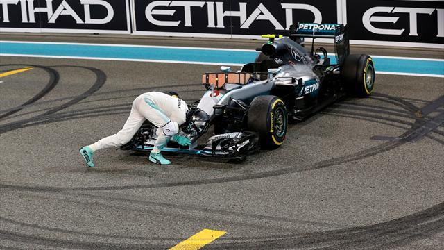 Nefes kesen mücadelede Rosberg hata yapmadı