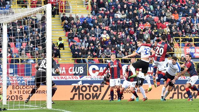 Serie A, Atalanta-Bologna 3-2: la Dea è quarta