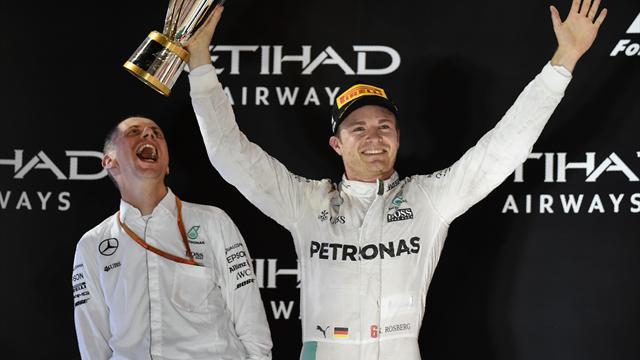 Wolff, Lauda, Lowe et Ross : ces hommes qui ont accompagné Rosberg sur le chemin de la gloire