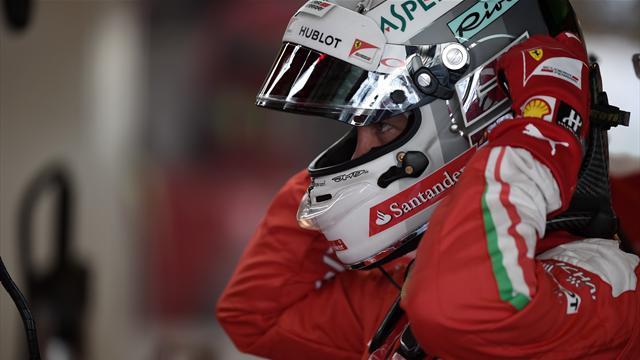 "Vettel : ""J'aurais pu accrocher Rosberg, c'était tendu"""