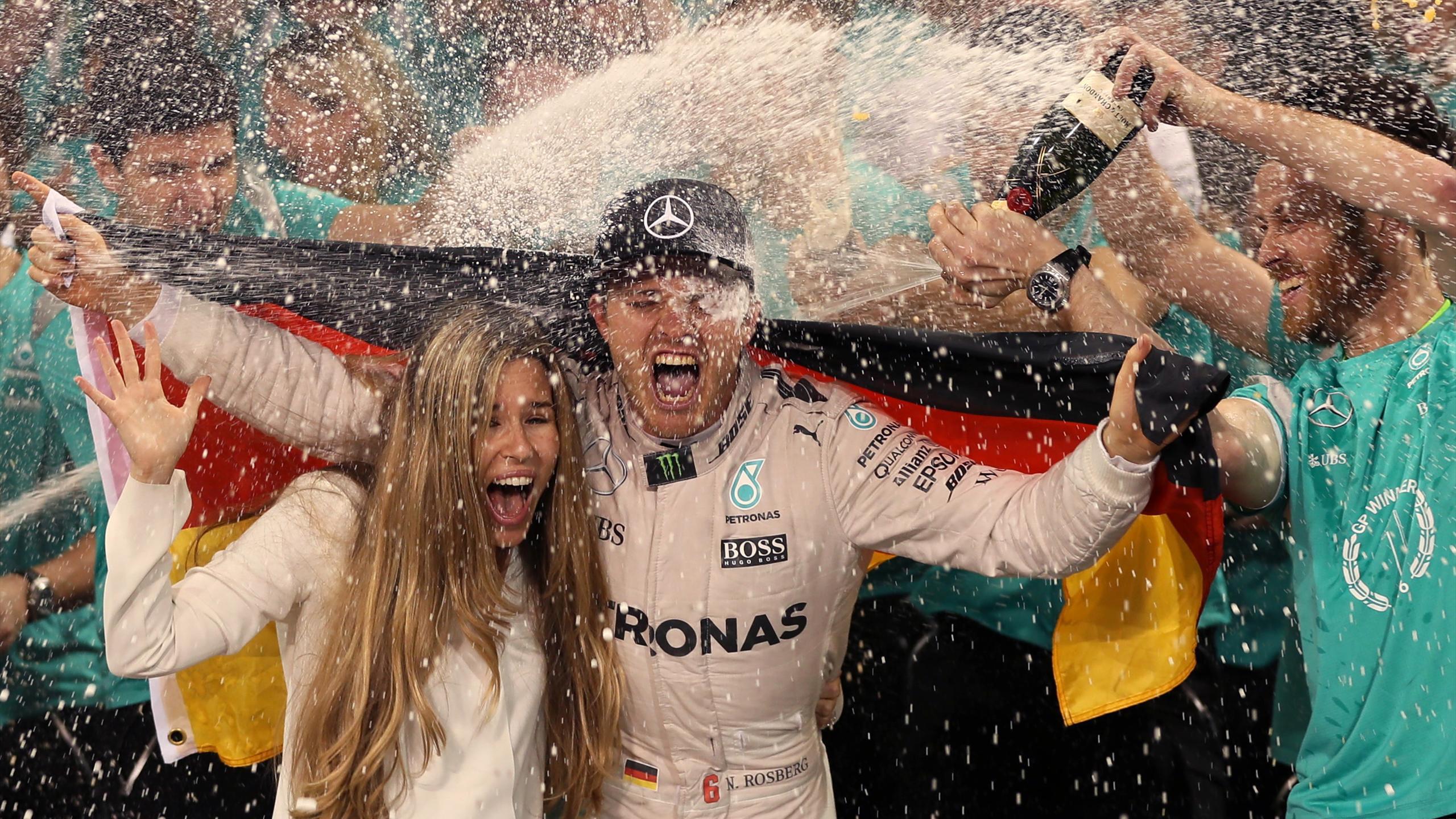 Vivian, Nico Rosberg (Mercedes) - GP of Abu Dabi 2016