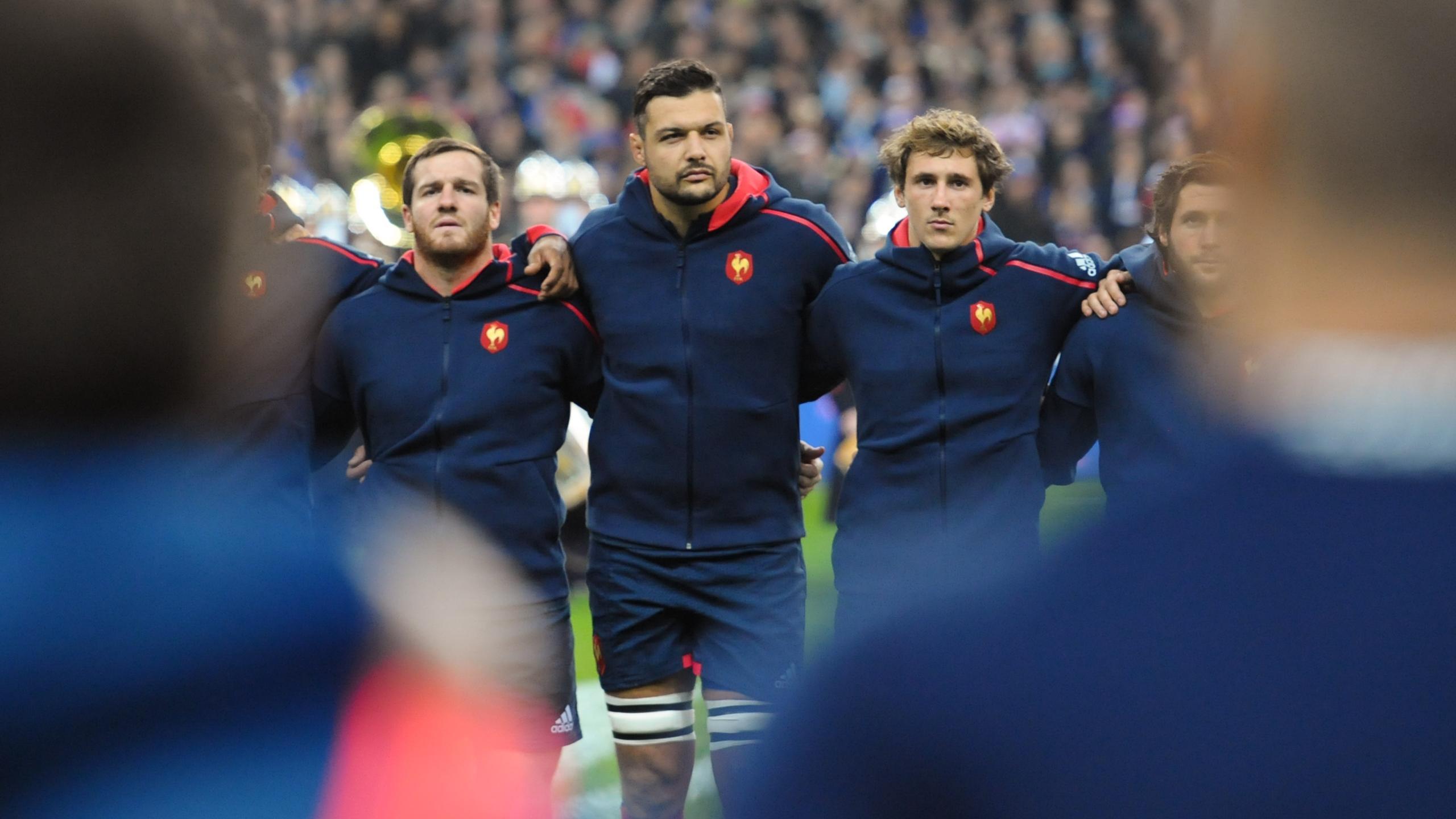 Damien Chouly (XV de France) - Novembre 2016