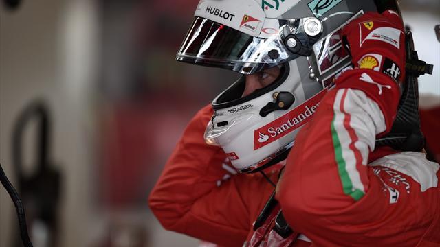 Vettel finisce contro le barriere nei test con le Pirelli da bagnato, ma sta bene