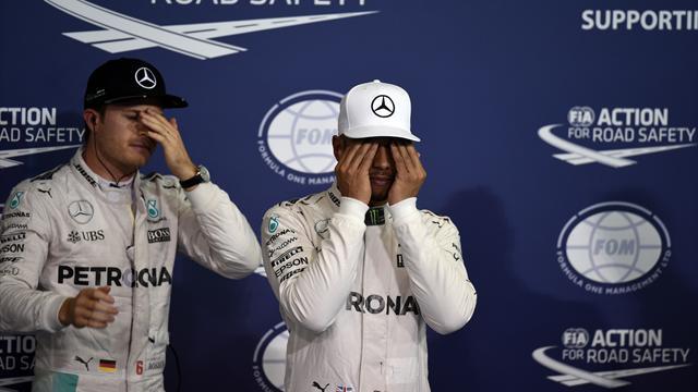 """Rosberg sur Hamilton : """"Je ne pensais pas qu'il ferait cela"""""""
