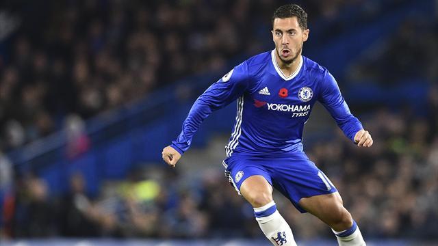 """Conte : """"La contre-attaque n'est pas la spécialité de Hazard"""""""