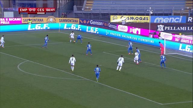 Rodriguez a attendu la prolongation pour qualifier Cesena