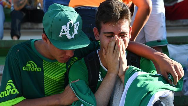 Il Chapecoense offre il suo stadio per il funerale collettivo dei calciatori